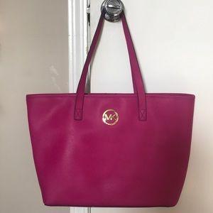 Pink tote MK bag